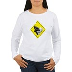 Thinking man Women's Long Sleeve T-Shirt
