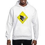 Thinking man Hooded Sweatshirt