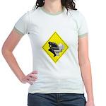 Thinking man Jr. Ringer T-Shirt