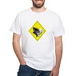 Thinking man White T-Shirt