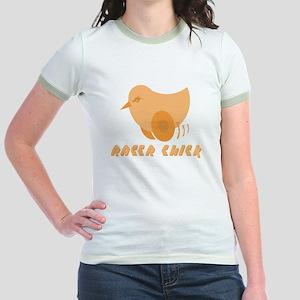 RACER CHICK Jr. Ringer T-Shirt