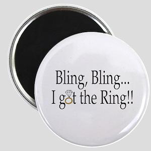 Bling, Bling, I Got The Ring! Magnet