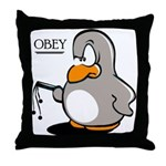 OBEY Throw Pillow