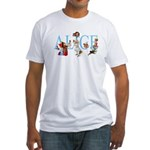 ALICE & FRIENDS Fitted T-Shirt
