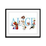 ALICE & FRIENDS Framed Panel Print