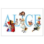 ALICE & FRIENDS Large Poster