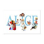 ALICE & FRIENDS Mini Poster Print