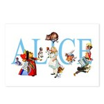 ALICE & FRIENDS Postcards (Package of 8)
