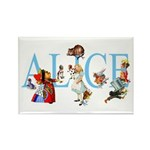 ALICE & FRIENDS Rectangle Magnet (100 pack)