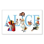 ALICE & FRIENDS Sticker (Rectangle 50 pk)