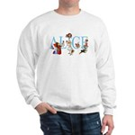 ALICE & FRIENDS Sweatshirt