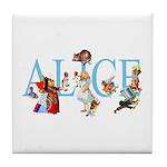 ALICE & FRIENDS Tile Coaster