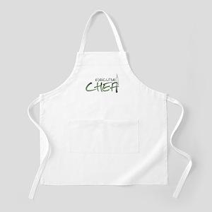 Green Executive Chef BBQ Apron