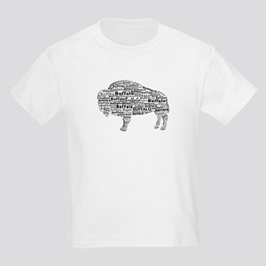 Buffalo Text Kids Light T-Shirt