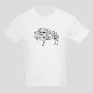 d19a6a611097 Buffalo Text Kids Light T-Shirt