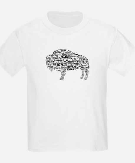 Buffalo Text T-Shirt