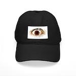 Big Ass Cyclops Eye Black Cap