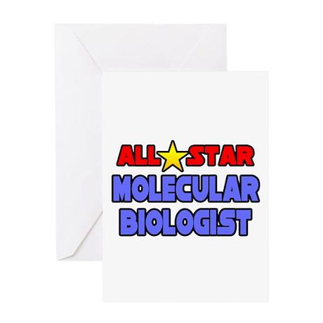 """Star Molecular Biologist"" Greeting Card"