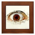 Big Ass Cyclops Eye  Framed Tile