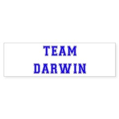 Team Darwin Bumper Bumper Sticker