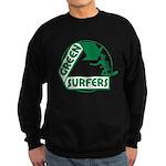 Green Surfers Sweatshirt (dark)