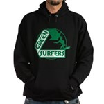 Green Surfers Hoodie (dark)