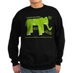 Elephant Facts Sweatshirt (dark)