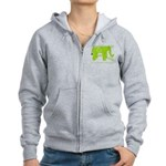 Elephant Facts Women's Zip Hoodie