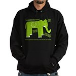 Elephant Facts Hoodie (dark)