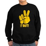 Peace It Out! Sweatshirt (dark)
