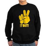 Peace It Out! Sweatshirt (dark)