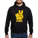 Peace It Out! Hoodie (dark)