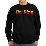 On Fire Sweatshirt (dark)
