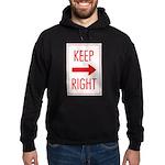 Keep Right Hoodie (dark)