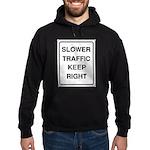Slower Traffic Hoodie (dark)