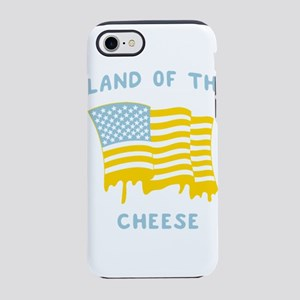 America. Land of the Cheese iPhone 8/7 Tough Case