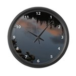 Placid Water Large Wall Clock