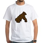Animal T-Shirt with Gorilla in Profile