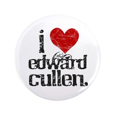 "I Love Edward Cullen 3.5"" Button"