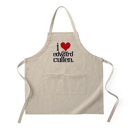 I Love Edward Cullen BBQ Apron