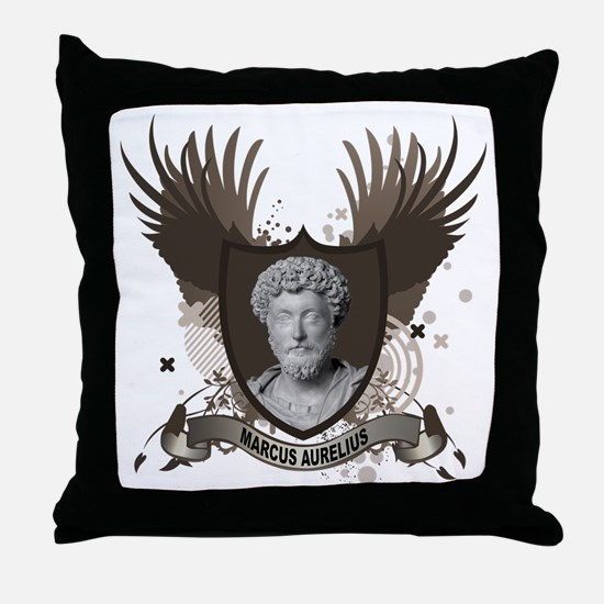 MARCUS AURELIUS Throw Pillow