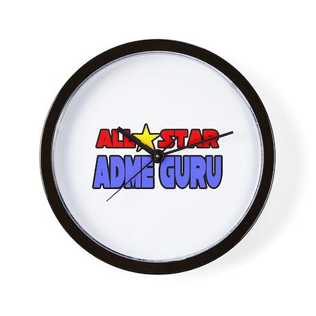 """All Star ADME Guru"" Wall Clock"
