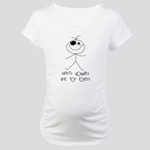 Safety Goggles Maternity T-Shirt