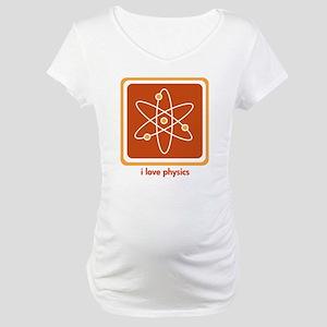 Love Physics Maternity T-Shirt
