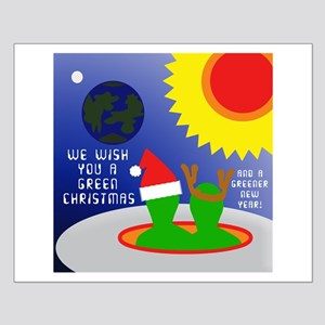 ALIEN CHRISTMAS WISH Small Poster