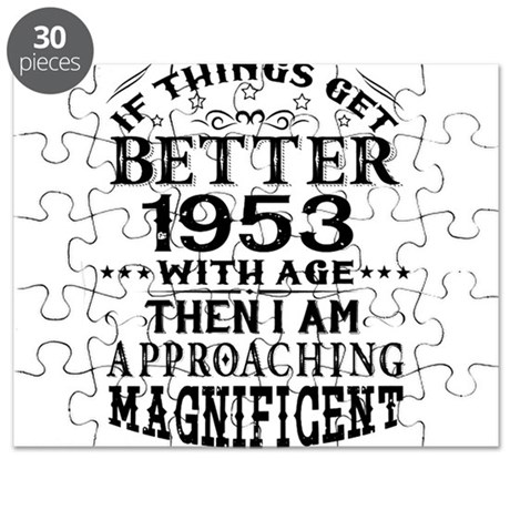 1953 puzzles cafepress Red Wine Day