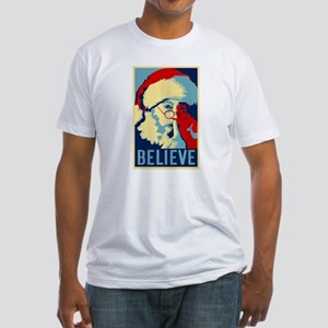 Graphic Santa Fitted T-Shirt