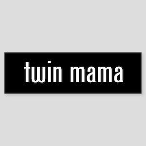 """""""twin mama"""" Bumper Sticker"""