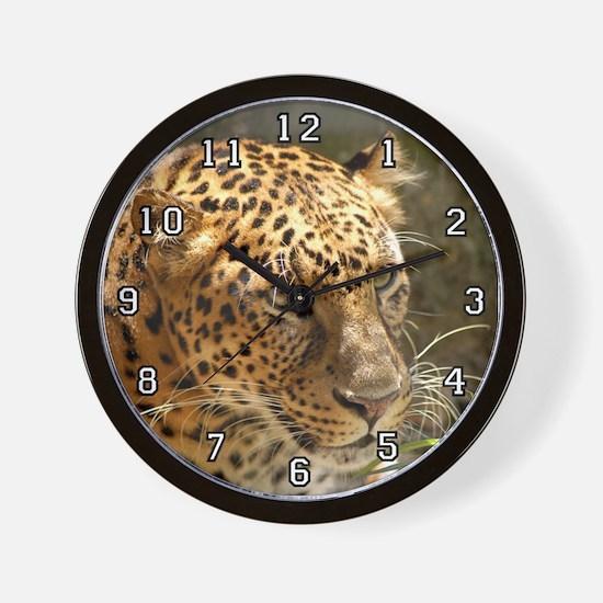Cheetaro Leopard Wall Clock