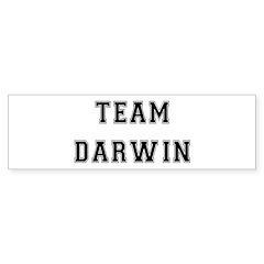 Team Darwin Bumper Bumper Sticker